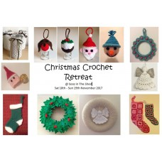 Crochet Christmas Weekend  - Sat 18th / Sun 19th Nov 2017