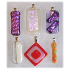 ANNIVERSARY SPECIAL - Fused Glass Pendants - Sat 6th Jan 2018 - 2.00-3.00pm