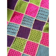 Joining & Edging Crochet Squares  - Mon 23rd Mar 2020 - 1.00-3.00pm