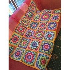 Polly Plum's Crochet Lotus Moon Blanket Course  - STARTS - Thu 10th Jan 2019 - 10.00am - 12.00pm