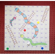Kid's Club - Snakes & Ladders Board -  Thu 16th Aug 2017 - 10.00-11.30am