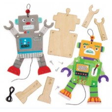 Kid's Club - Wooden Puppet Painting -  Tue 18th Feb 2020 - 10.00-11.00am