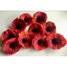 Shelley Steel - Felted Poppies - Fri 25th Oct 2019  - 6.30-8.30pm